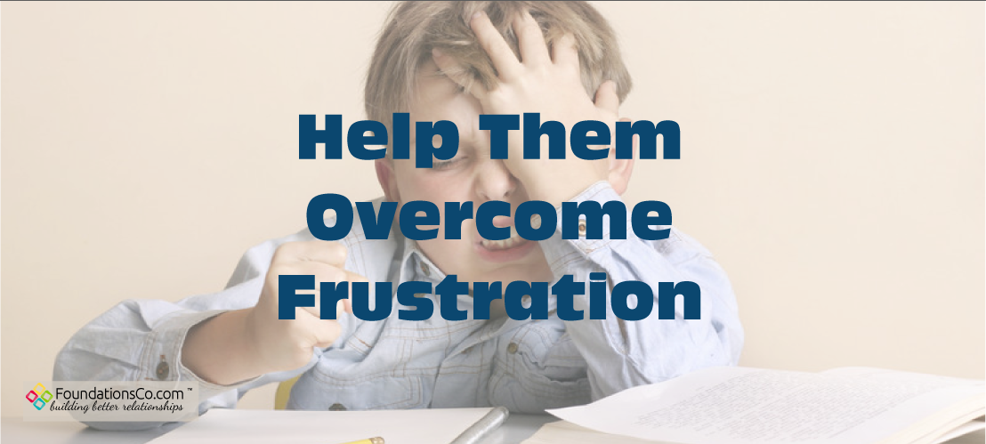 Overcome Child Frustration