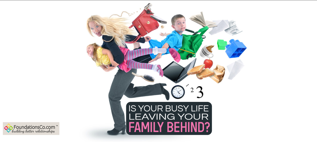 Busy Life Leaving Family Behind