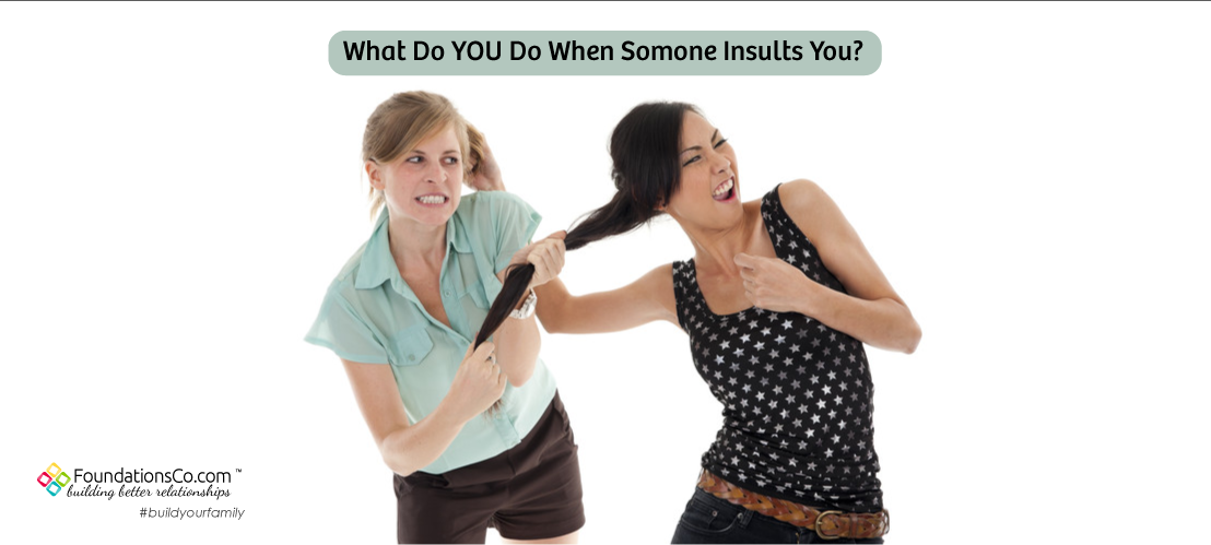 What Do You Do When Someone Insults You?