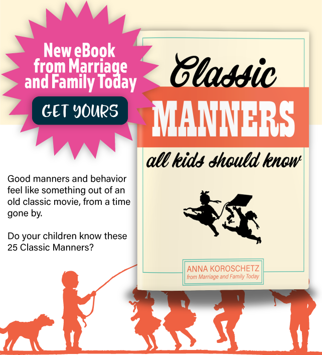 Classic Manners All Kids Should Know