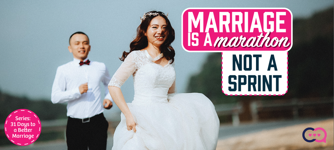 Marriage is a Marathon Not a Sprint