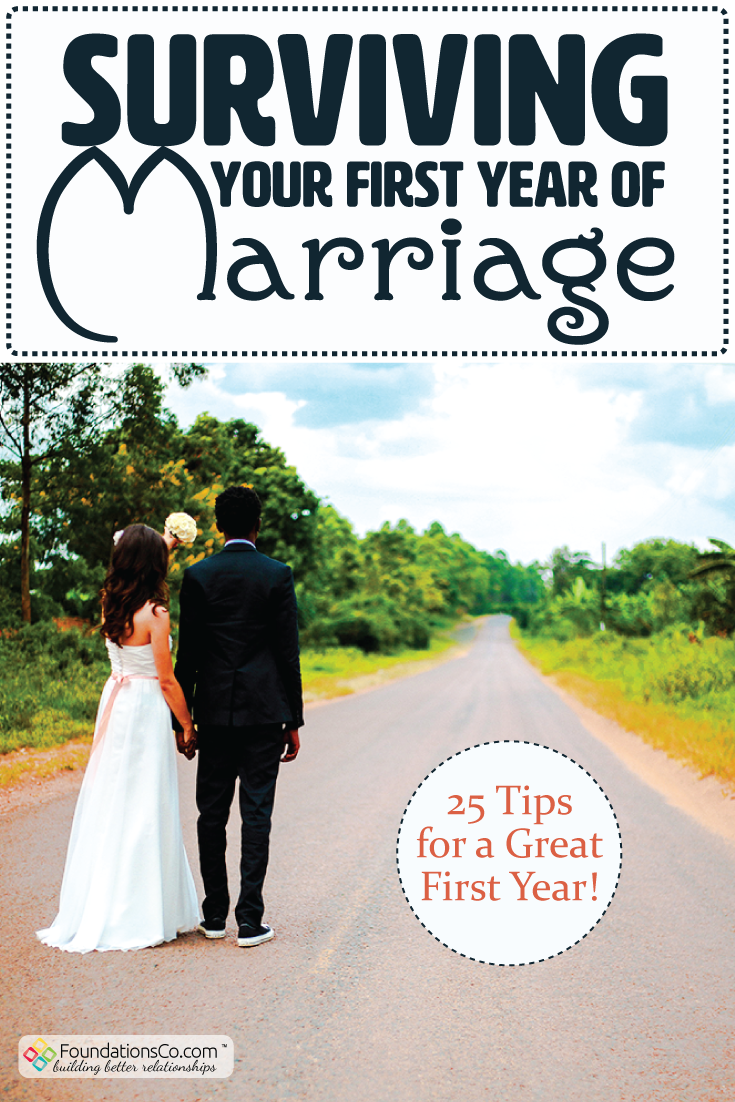 Surviving Your First Year of Marriage